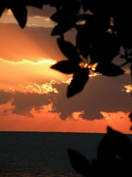 belize, sudoamerica: sunset II by troubleinharlem