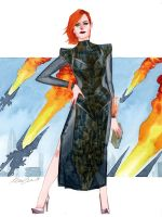 Commander Shepard by kevinwada