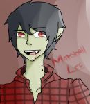 Marshall Lee by caruxxanime05