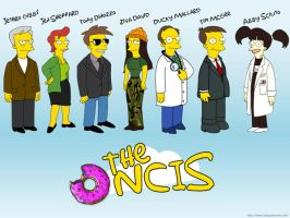 Simpsons NCIS wallpaper by melanie1121