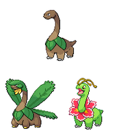 Sauropod Pokemon by PkmnOriginsProject