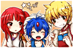 Magi: The Labyrinth of Magic! by Naiconiku