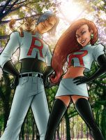 Team Rocket Color by ComfortLove