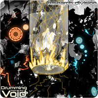 Drumming from the Void Single Album Art by DKDevil