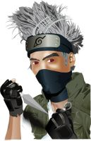 Kakashi Cosplay by Cl0ver