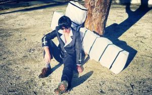 Nicholas D. Wolfwood Photo shoot 2 by D4RKPR1NCE-86