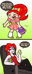 No Easter Candy For Chloe by PrincessCallyie
