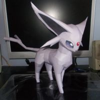 Espeon Papercraft by Sabi996