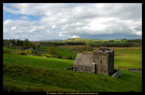 Anchorites Cell, Fore, Ireland by fluffyvolkswagen