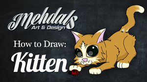 How to Draw a Kitten by Mehdals