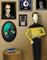 Star Trek: Not cool Data... not cool by Comedic44
