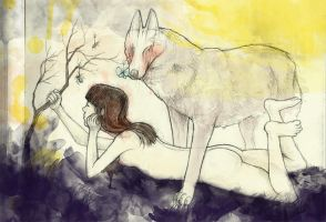 Mother Wolf by StephanieStutz