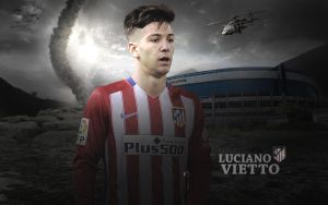 Luciano Vietto 2015/16 Wallpaper by ChrisRamos4