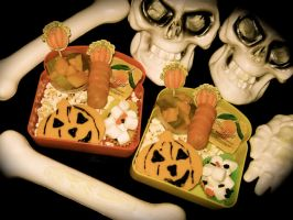 Halloween Bento 1 by LaFoi