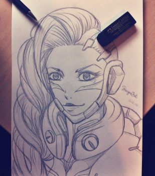 Sombra - OW by ReaperBat