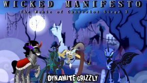 Wicked Manifesto: The Music of Canterlot 3 (Cover) by DJ-Bleach