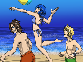 For the KH Summer Contest: TAV Volleyball by Dark-Momento-Mori