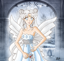 Neo winter with Neo Queen Serenity by DaisyHarvey