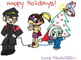 A Quick Holiday Pic by plushietoon