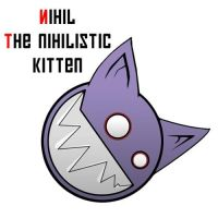 Nihil the nihilistic cat by phoenixdk