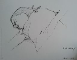 16, laying woman by schachay