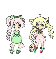 Sweet babies adopts-closed by Chibii-chii