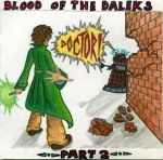 Blood of the Daleks part two coloured by BlueBoxDrifter