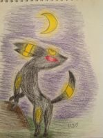 Umbreon by shiny9tails