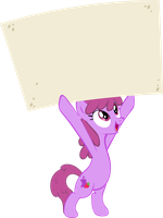 Berry Punch Blank Sign by RedtoxinDash