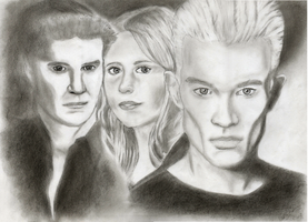 Spike / Buffy / Angel by Ez0rus