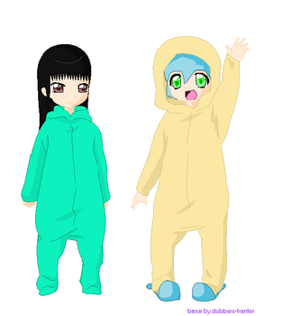 Hoodie PJs by AnAnonymusCat