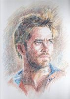 Chris Pine by Ans-Westdorp