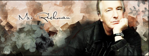 AlanRickman by LadyDeath92