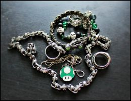 My Halloween jewelry. by MoiraHermione