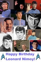 Happy B-Day Leonard Nimoy! by PseudonymousRMY