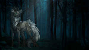 A light in the darkness - Commission by Nereiix