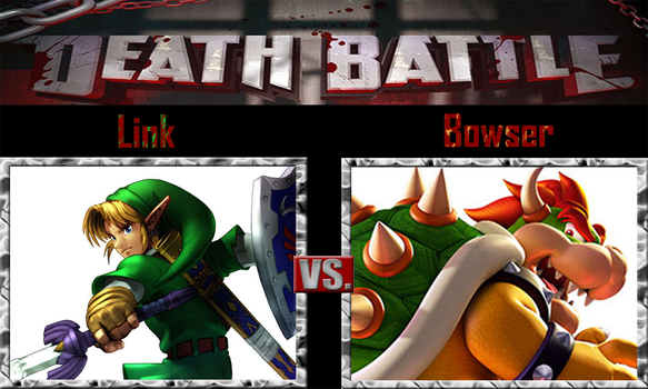 Link vs Bowser by SonicPal