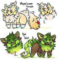 Reptalines: ADOPTS OPENED by sariasong64