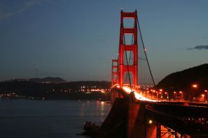 Golden Gate in 2008 by orographic