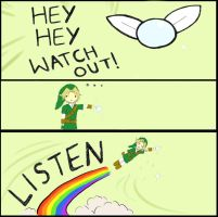LINK. GRAB MY WING by StolenLights