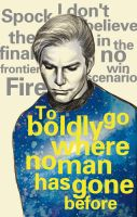 Star trek-Kirk and quotes by dosruby