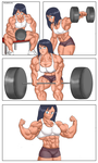 Commission: Bicep Grow Part 3 by NeroScottKennedy