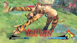 SSF4AE CAMMY Wild Kitty Costume MOD Screenshot by YUKARIN2012
