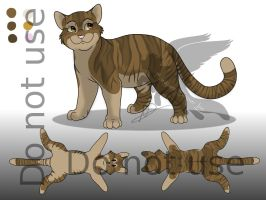 Adoptable Male Cat 2 - Available by Ebonycloud-Graphics