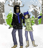 Winter Moirails by nightmare43yume