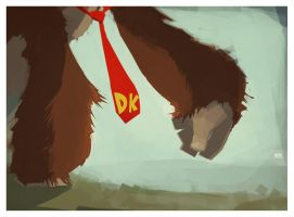 Donkey Kong by bended