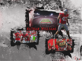 Nathan Williams Wallpaper by KevinsGraphics
