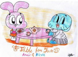 Request-Table For Fun by murumokirby360