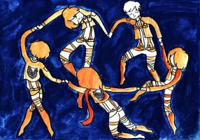 Attack On Dancing by LanyLevendula