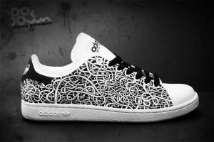 Custom Sneakers 'Cords' by JohanNordstrom